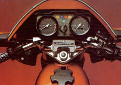Zündapp KS 50 Cocpit 1979