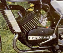 Zündapp KS 50 Motor watercooled