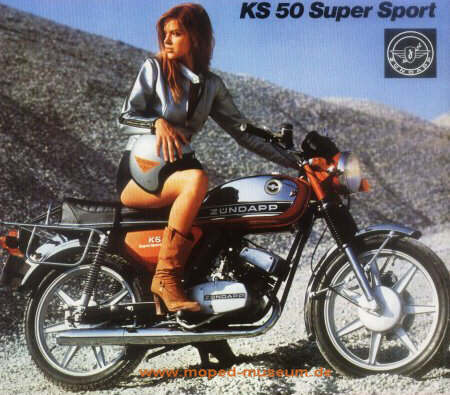 Super Sport on Zuendapp Ks 50 Super Sport Tt Inlandsmodell 1977 1980